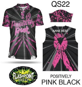 Positively Pink Black - Personalized