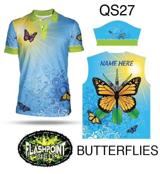 Butterflies - Personalized