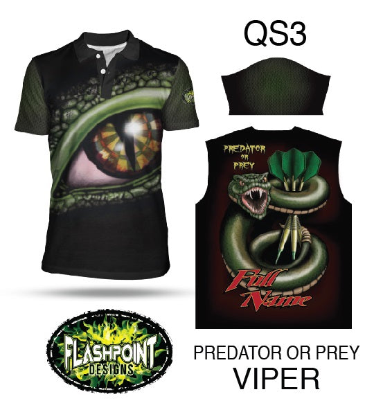 Predator or Prey Viper - Personalized