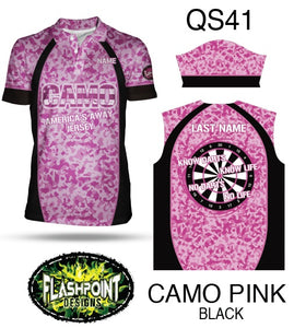 Camo Pink Black - Personalized