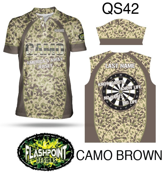 Camo Brown - Personalized