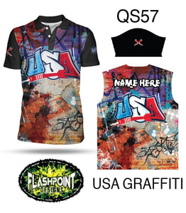 USA Graffiti - Personalized