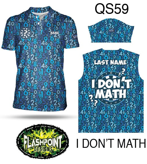 I Don't Math - Personalized