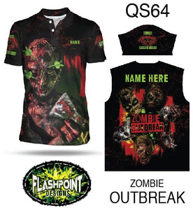 Zombie Outbreak - Personalized