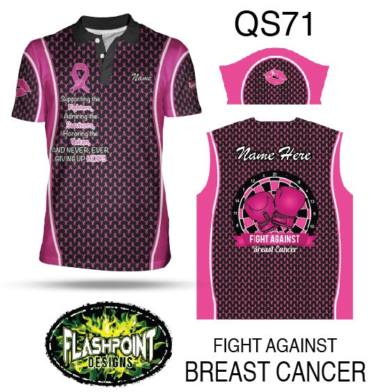 Fight Against Breast Cancer - Personalized