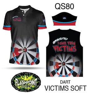 Dart Victims Soft - Personalized