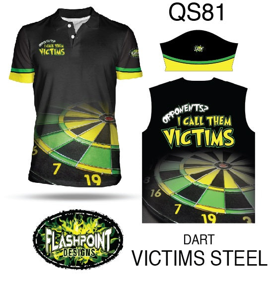 Dart Victims Steel - Personalized
