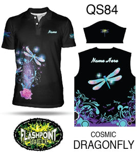 Cosmic Dragonfly - Personalized
