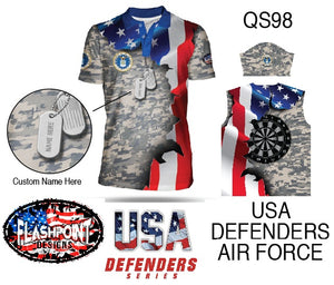 USA Defenders Air Force - Personalized