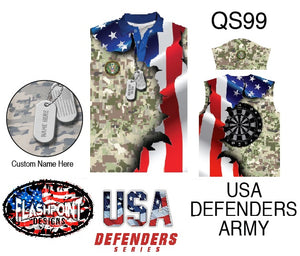 USA Defenders Army - Personalized