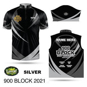 900 Block 2021 Event Jersey - Silver