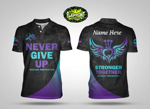 Suicide Prevention - Never Give Up - Personalized