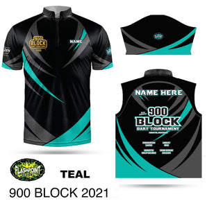 900 Block 2021 Event Jersey - Teal