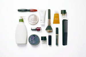 Recycle beauty products and make up packaging