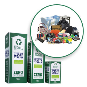 Recycle bedroom waste with this Zero Waste Box