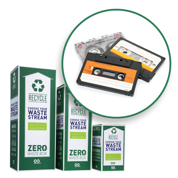 Cassette tapes recycling