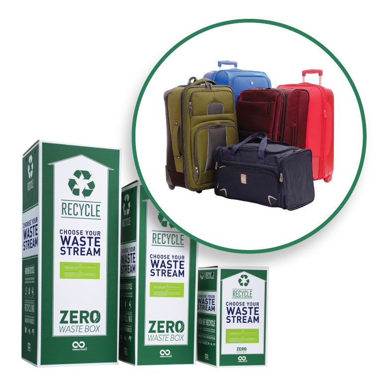 Luggage and travel bags recycling