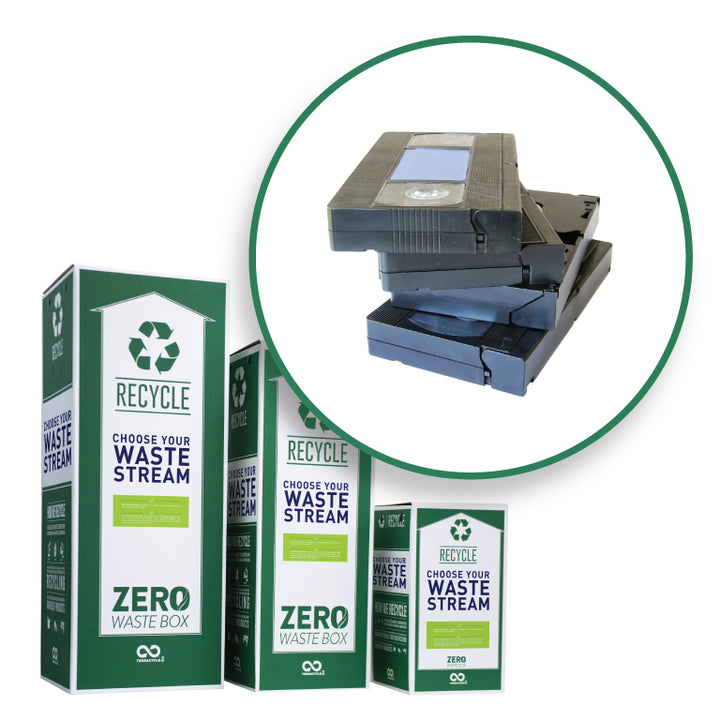 Recycle VHS tapes with this Zero Waste Box