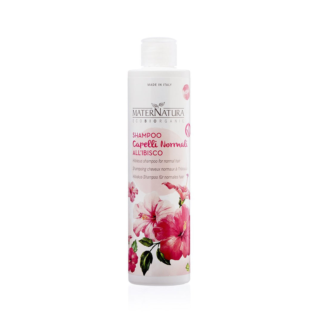 MaterNatura Shampoo Capelli Normali all'Ibisco 250 ml
