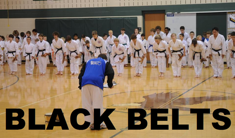 Belt Promotion - (For Black Belts Only) Fall Semester