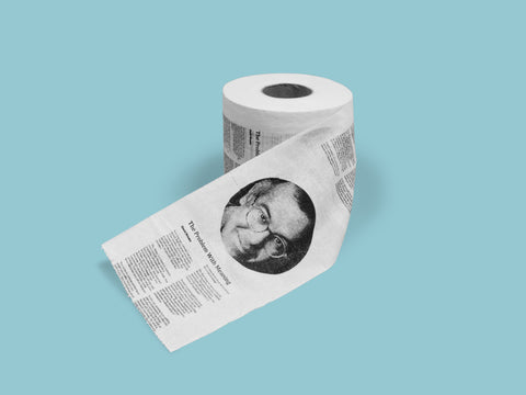 David Brooks Toilet Paper