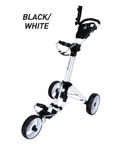 Qwik Fold 3-wheel Push Cart
