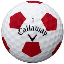 Callaway Callaway Truvis Chorme Soft Truvis Single Ball (Red)