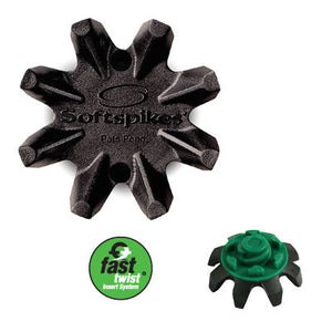 Masters Golf Black Widow Spikes FT/Pins