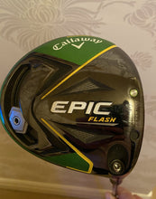 "Load image into Gallery viewer, Callaway Epic Flash 12"" Driver Ex Demo - Senior Shaft"