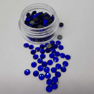 Dark Blue 4mm (16ss) Crystals