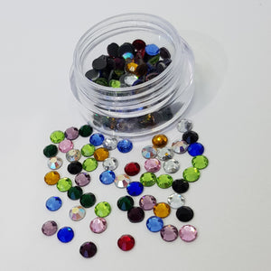 Mixed Colours 4mm (16ss) Crystals