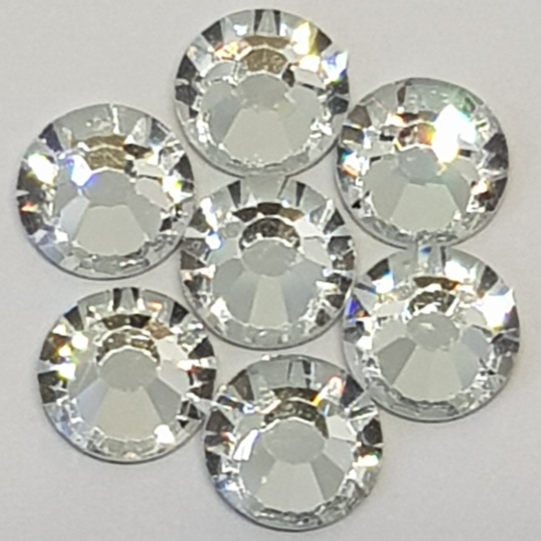 Chuakari Clear Crystal 2mm to 6mm