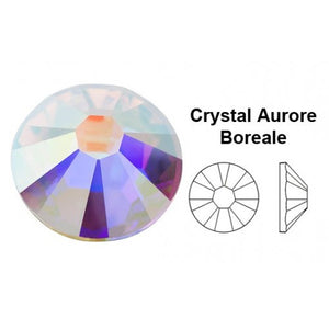 Swarovski Clear Crystal AB 2mm to 7mm