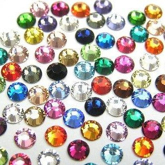 Swarovski Mixed Colours Crystal 2mm to 7mm