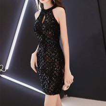 Load image into Gallery viewer, #5011 Sequins Dress
