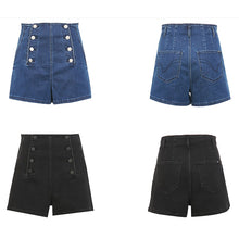 Load image into Gallery viewer, #5047 High Waist Denim Shorts