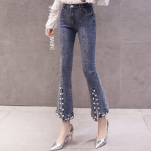 Load image into Gallery viewer, #5061 Pearls Jeans Trousers