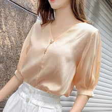 Load image into Gallery viewer, #5076 Chiffon Shirt