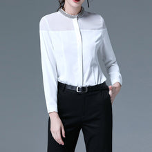Load image into Gallery viewer, #5078 Beaded Collar Shirt