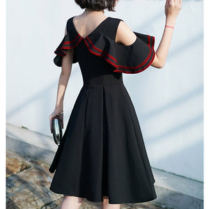 #5096 Bat Sleeves Dress