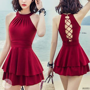 #6880 LINDA DRESS / SWIMSUIT