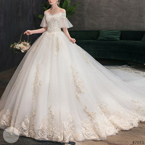 #7015 WEDDING DRESS