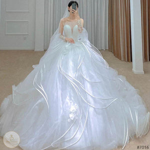 #7016 WEDDING DRESS
