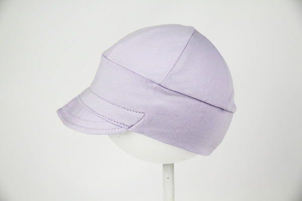 Downtown Hat -cotton jersey LAVENDER