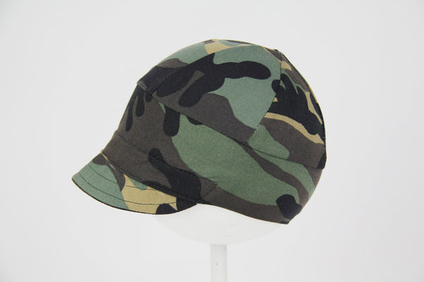 Downtown Hat -cotton jersey CAMO
