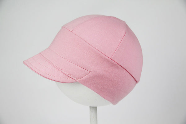Downtown Hat -cotton jersey PETAL PINK