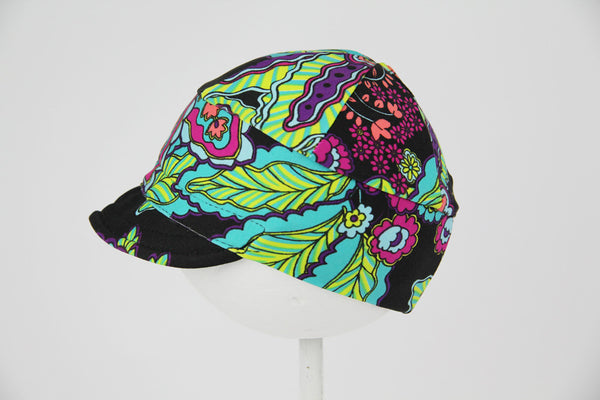 Downtown Hat -Swim FLORAL NEON