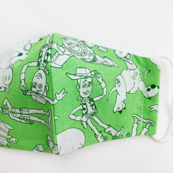 CHILD cotton face mask- toy story