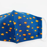 CHILD cotton face mask- gold fish