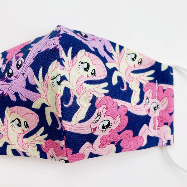 SMALL CHILD cotton face mask- my little pony